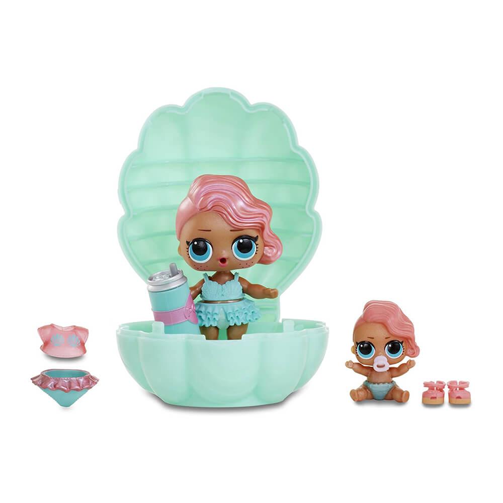 Кукла LOL Surprise Pearl (Лол-сюрприз Жемчужина) (бирюзовый шар) - 4