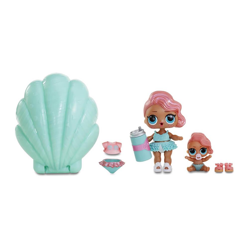 Кукла LOL Surprise Pearl (Лол-сюрприз Жемчужина) (бирюзовый шар) - 5